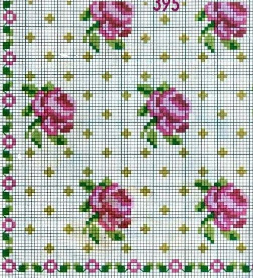 cross stitch chart.. also like the background for when you have too much empty space