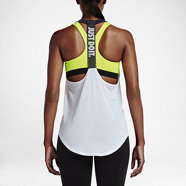 Débardeur de training Nike Elastika Elevate Just Do It pour Femme