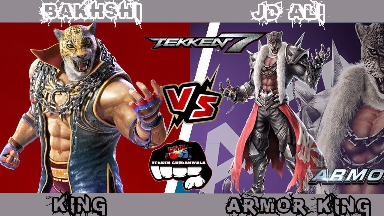 Tekken 7 Bakhshi King Vs Jd Ali Armor King Tekken 7 Jack