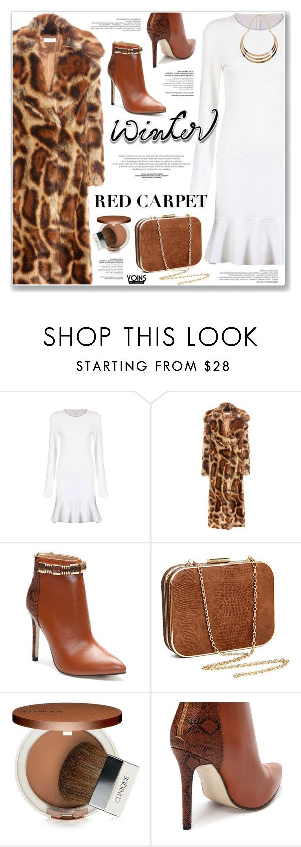 """LOVE YOINS"" by nanawidia ❤ liked on Polyvore featuring Dries Van Noten and Clinique"