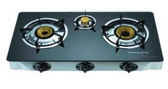 Branded 3 Burner Gas Stove With Marble Minish Stainless Steel Body Brass Burner Tops C I Mixing Tubes Stainless Steel Drip Trays Stove Gas Stove Stoves Online