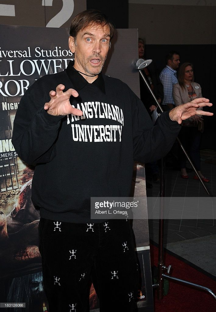 actor bill moseley attends universal studios hollywood celebration for halloween horror nights with the
