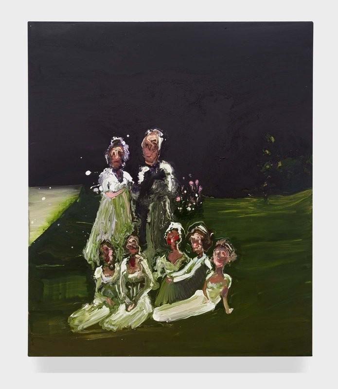 """family in the grass"" @genievefiggis 2015"