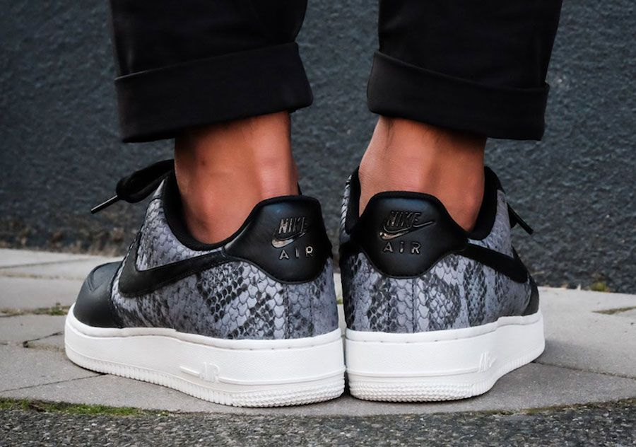 This Nike Air Force 1 Low Comes With Snakeskin Detailing