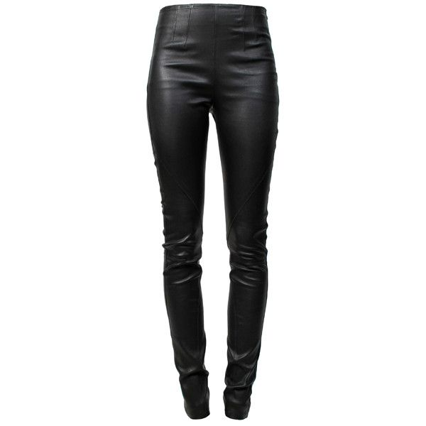 1e81582ae3bf ALEXANDER WANG Stretch Leather Legging ZigZag and other apparel ...