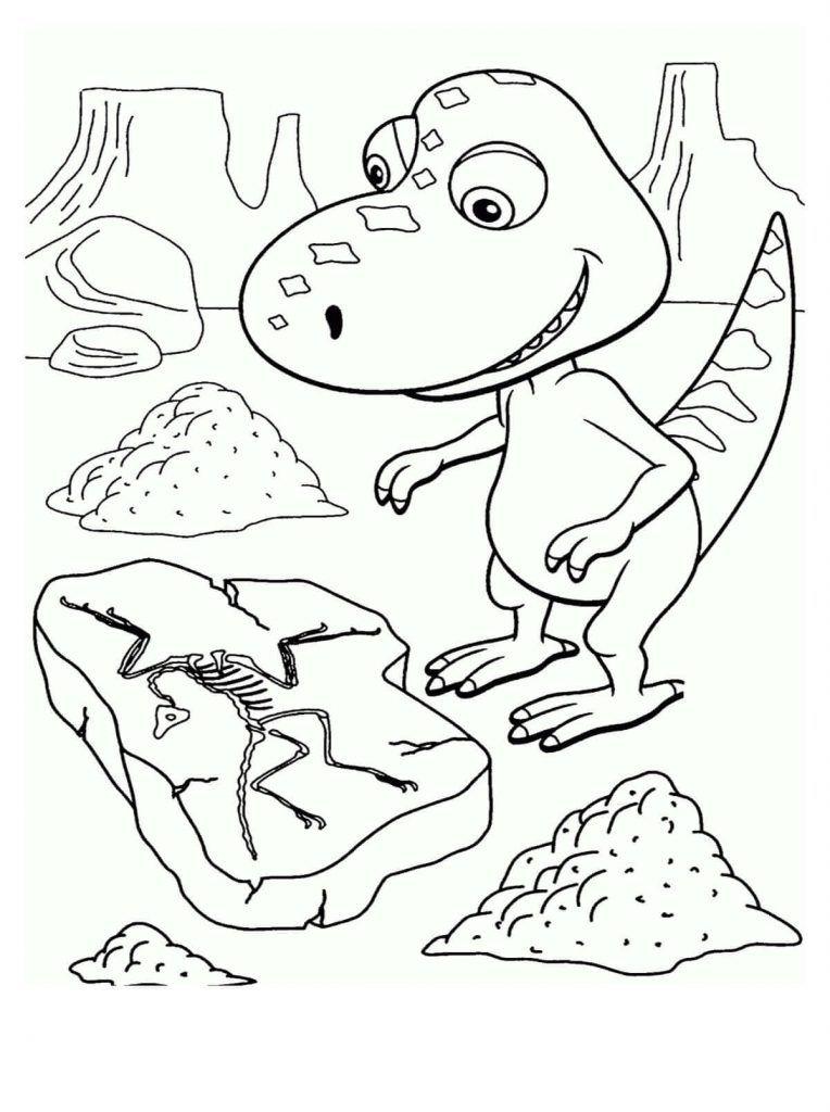 Dinosaurios para niños para colorear | Dibujos gratis para coloreas ...