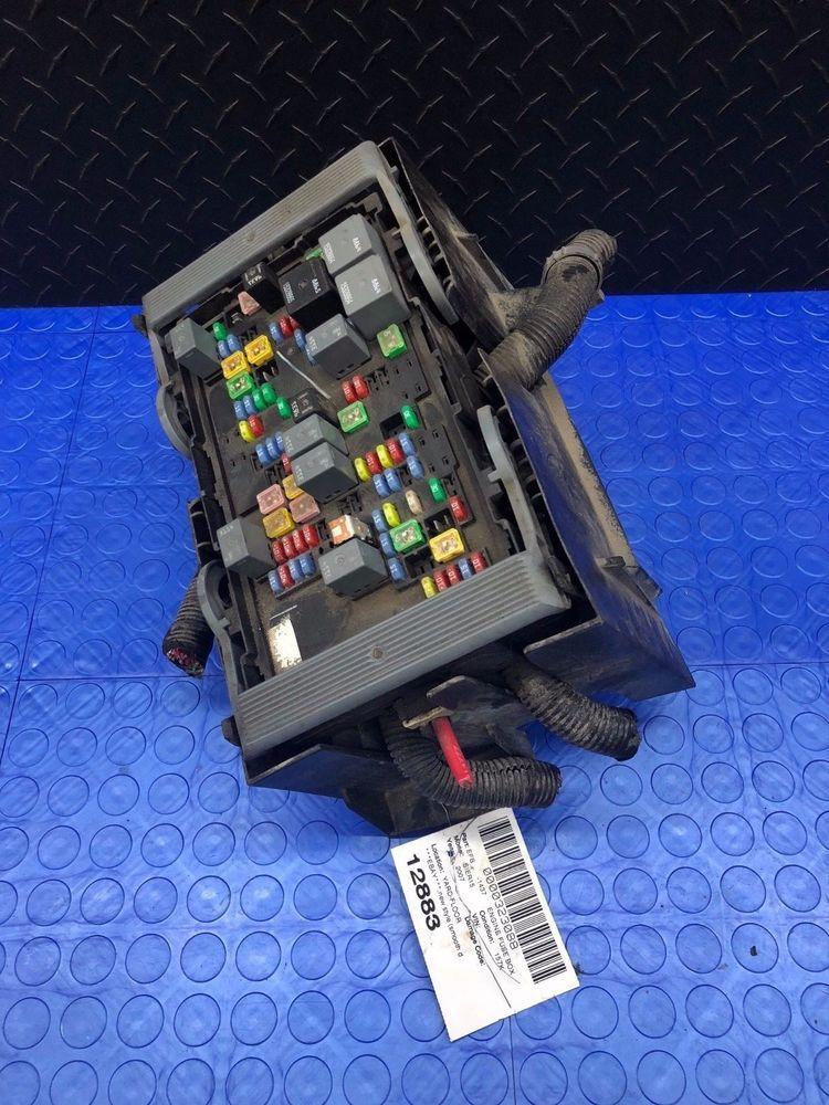 gmc sierra silverado part engine wire wiring junction fuse block relay  panel box #gm   toyota camry, camry, silverado parts  pinterest