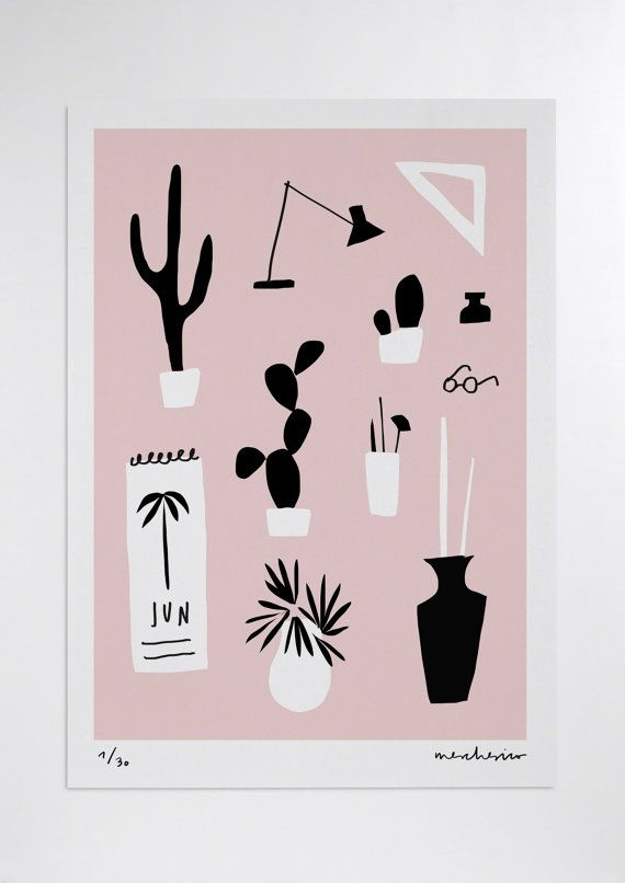 Nature morte j\u0027ai (rose) tirage d\u0027Art Studio d\u0027été 图画 - Logiciel De Dessin De Maison Gratuit