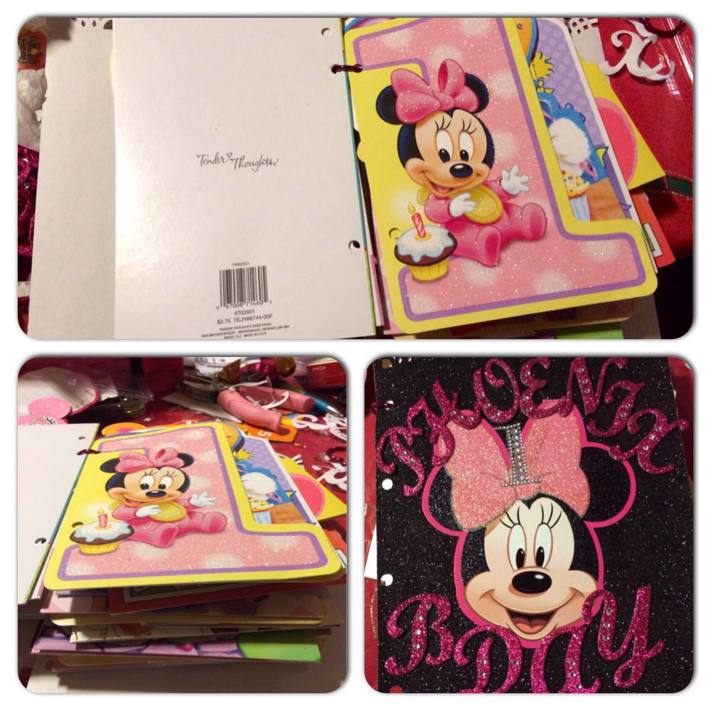 Diy Card Holder Took All Of My Daughter Birthday Cards And Created