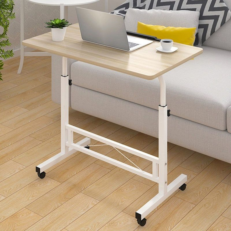 Lifting Mobile Computer Desk Bedside Sofa Bed Notebook Desktop Stand Table Learning Desk Folding Laptop Table Adjustable Height Office Furniture
