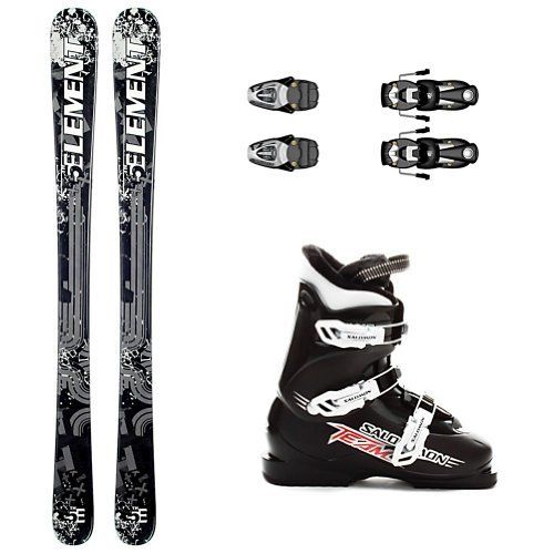 5th Element TXT Kids Ski Package 2012 by 5th Element. $299.99. 5th Element TXT Kids Ski Package 2012 - Your child will be fully prepared to hit the slopes when they're equipped with the 5th Element TXT Kids Snowboard Package. Designed for beginners and intermediates, the TXT features a very soft flex pattern, a twin shape, and cool boy approved graphics. The soft flex is ideal for kids because it allows them to initiate their turns easier. With a quick transition time betwe...