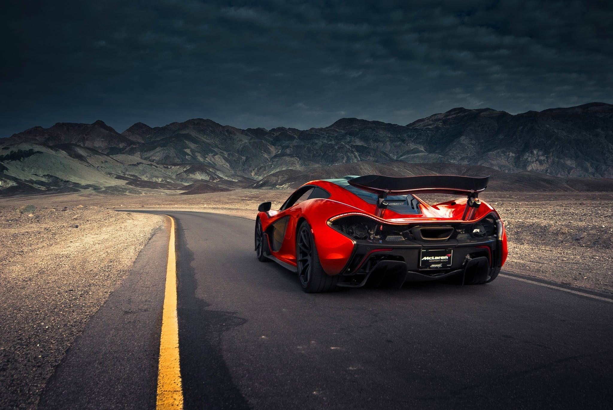 Red And Black Luxury Car Mclaren Car Mclaren P1 1080p Wallpaper Hdwallpaper Desktop Luxury Cars Mclaren Cars Car Wallpapers