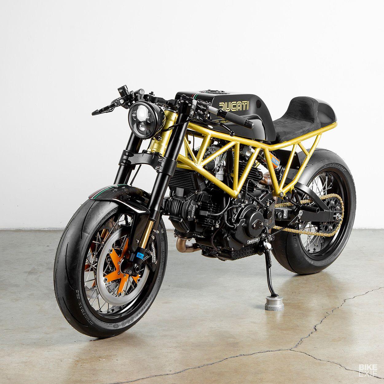 Caffe Nero Lossa Engineering S Ducati 900ss