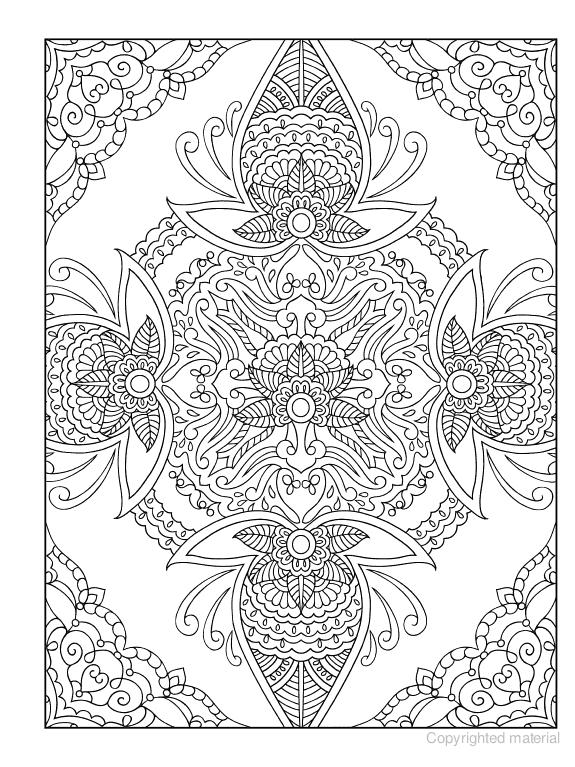 creative haven mehndi designs coloring book traditional henna body art - Body Art Tattoo Designs Coloring Book