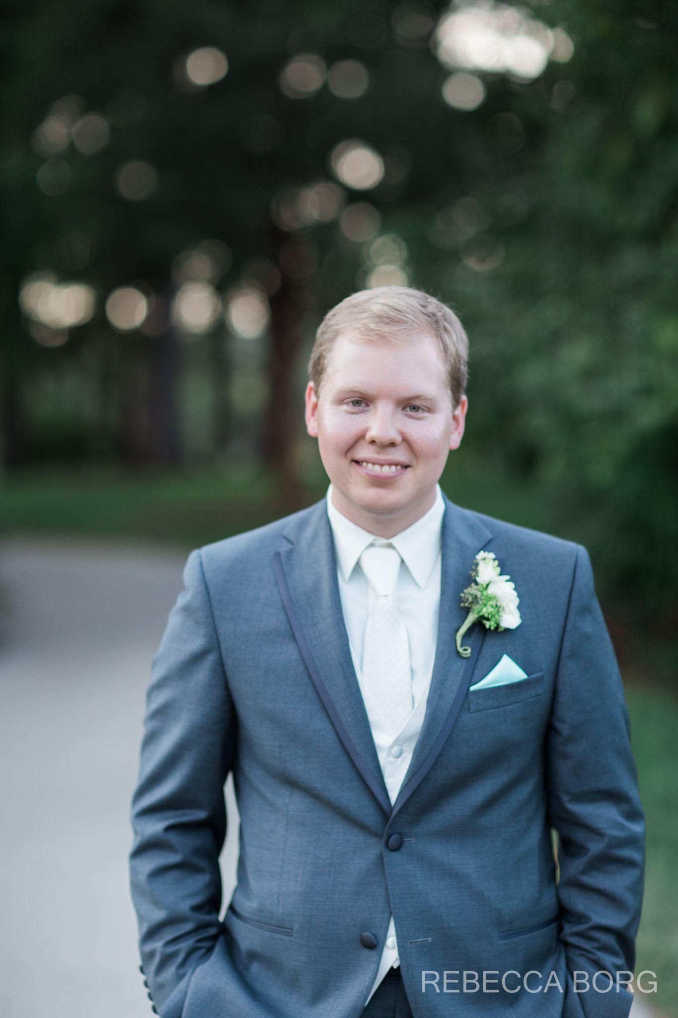picture of the groom at morton arboretum wedding | Morton Arboretum ...
