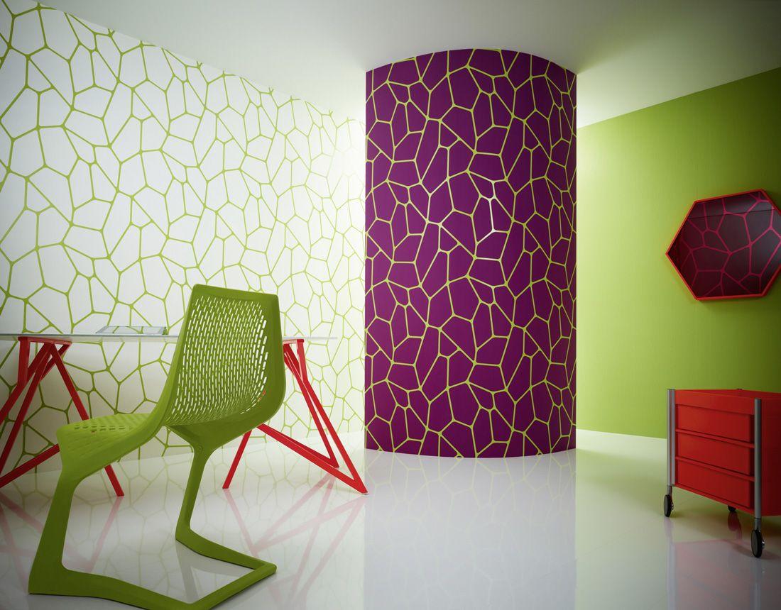 Micro wallpaper by lars contzen 2552 42 interior design videos floor design pattern