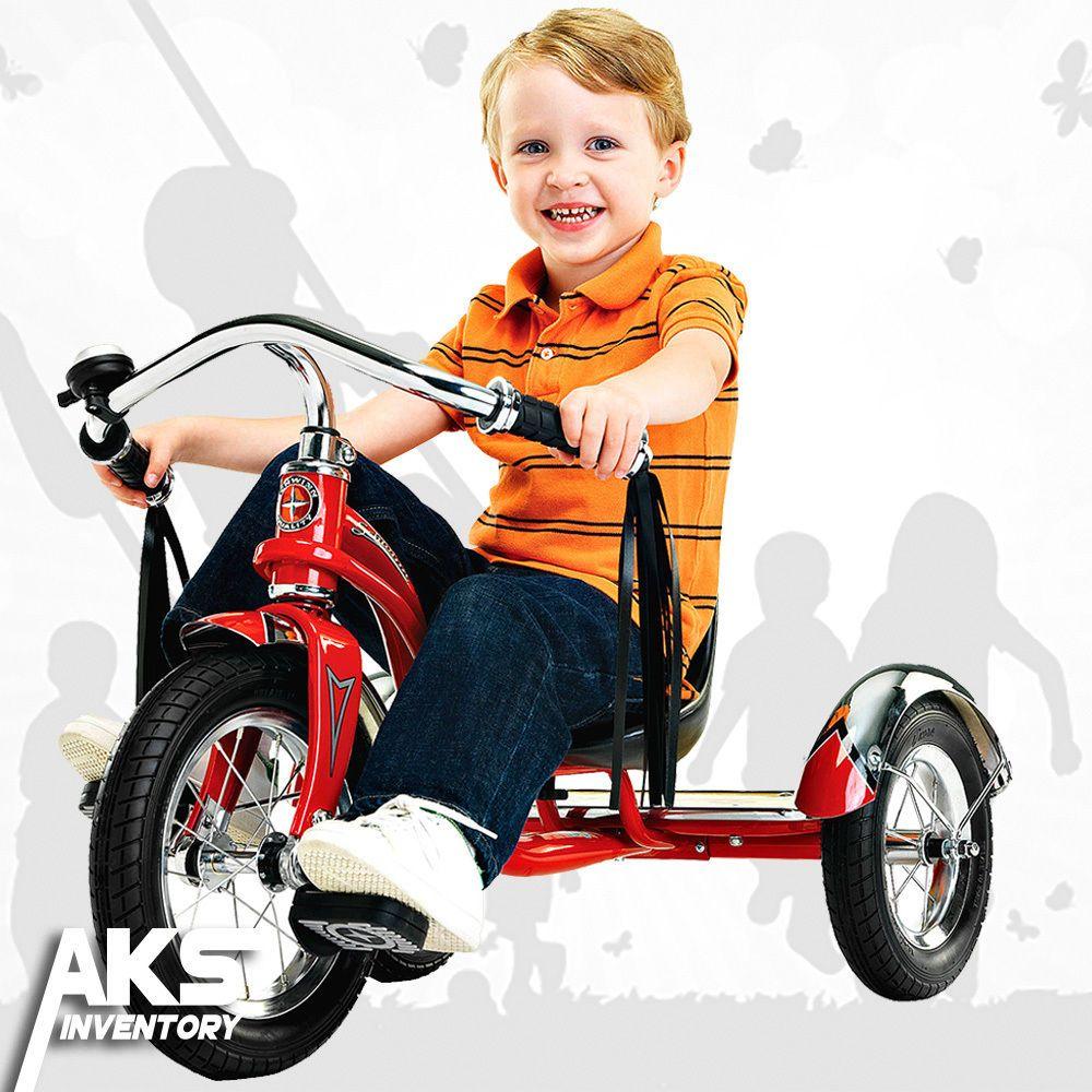Details About Schwinn Roadster 12 Trike Red Toy Play Heavy Duty