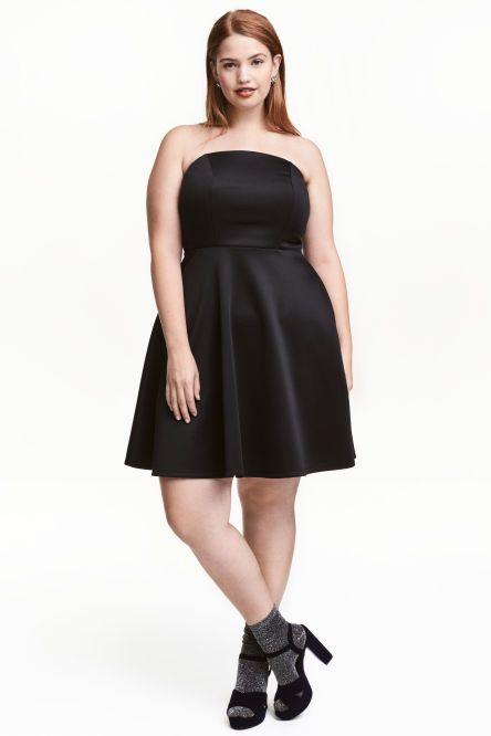 H&M+ Bandeau dress