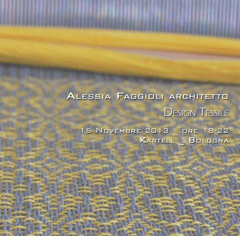 Mostra di Design Tessile 15 novembre 2013 - Bologna