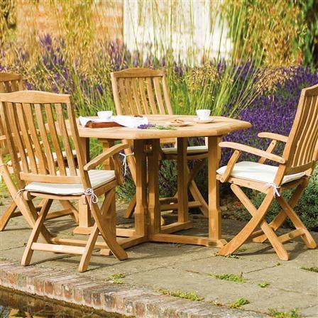 Table Alexander Rose octogonale Du bois de très bonne ...