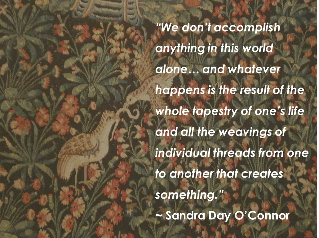 Sandra Day O Connor Quotes We Don't Accomplish Anything In This World Aloneand Whatever