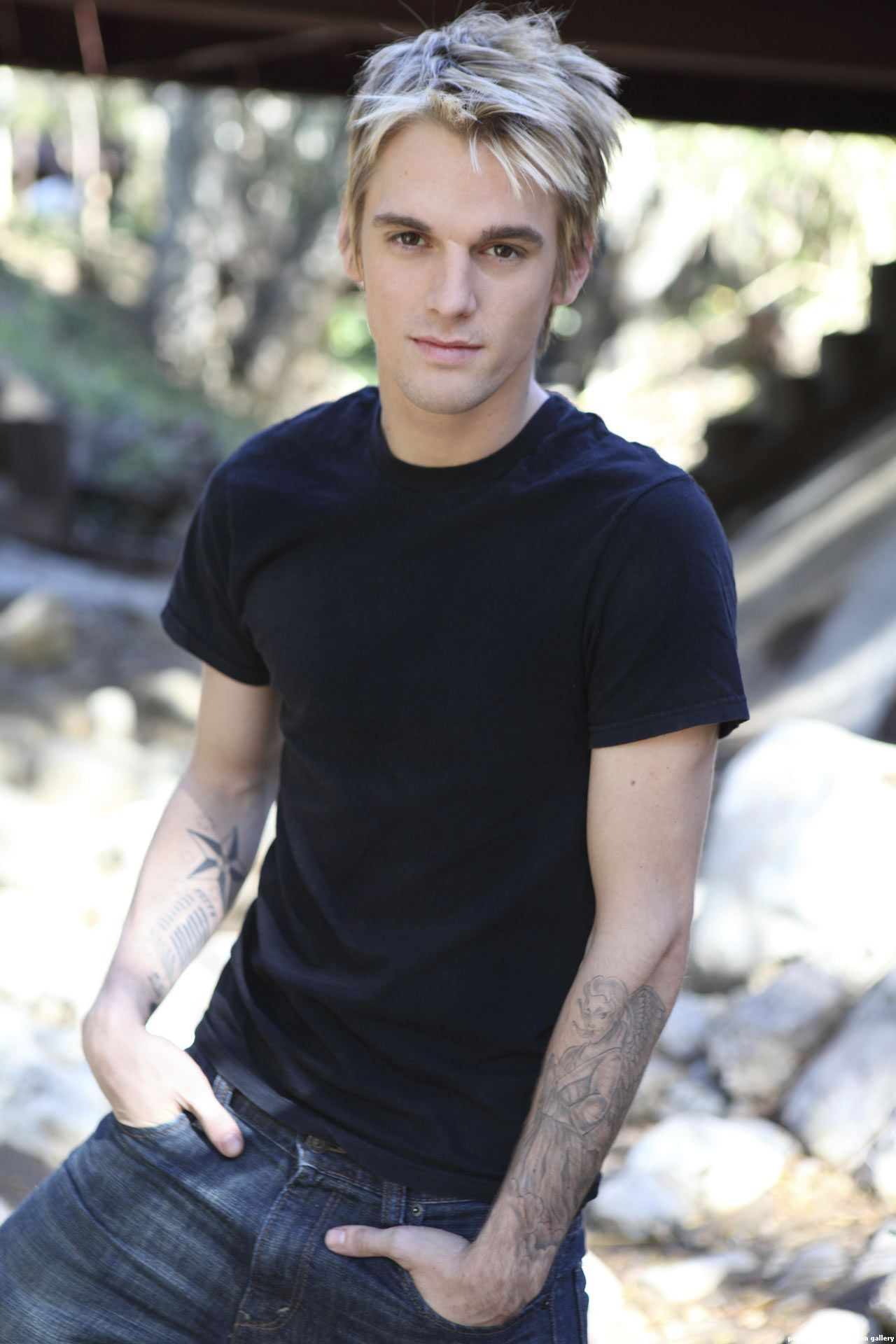 Not that I think so now, but Aaron Carter was my very first crush ever!
