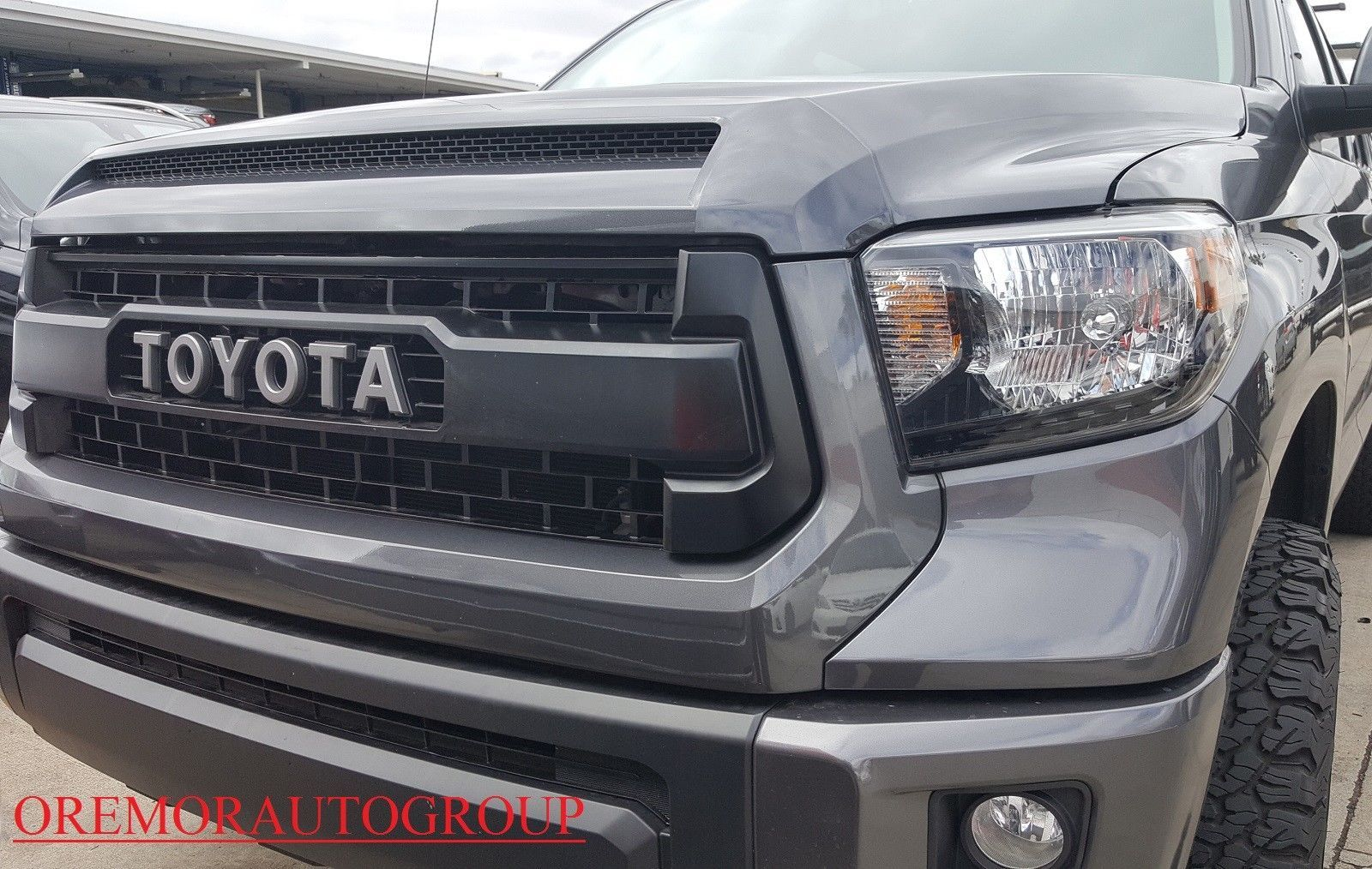 Awesome 14 17 Genuine Tundra Trd Pro Grill Bulge Toyota 1g3 Magnetic Gray Metallic Oem 2017 2018