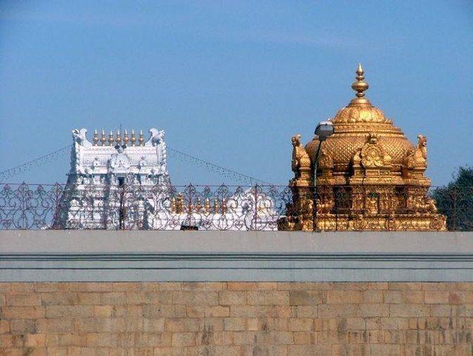 Gopurams of Tirumala Venkateswara Temple