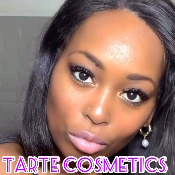 #makeuptutorial #tartecosmetics #beautymakeup #beautyblogger #smokeyeyemakeup #gloss  #blackwomensmakeup
