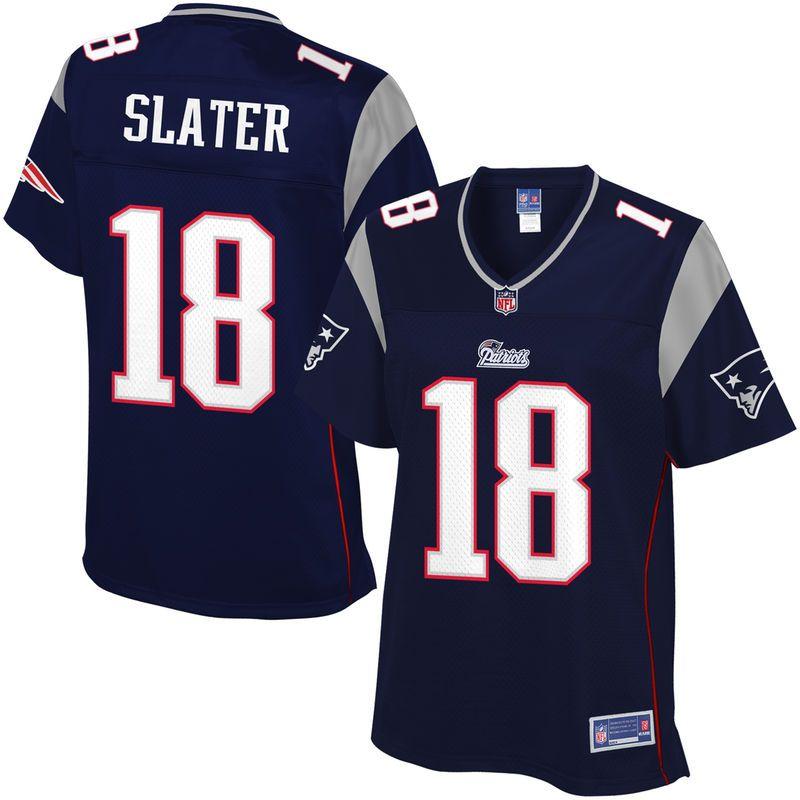 NFL Pro Line Women s New England Patriots Matthew Slater Team Color Jersey ab17348de