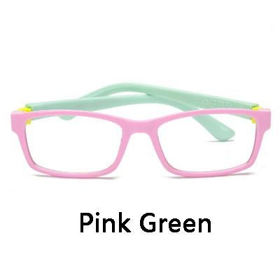33bd6012a999 Ralferty Kids TAC Flexible Eye Glasses Frame With Clear Lens Ultra Light  Child Prescription Myopia Optical Frames Eyeglass S854