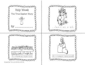 holy week easter prek k 1st holy week easter story and easter
