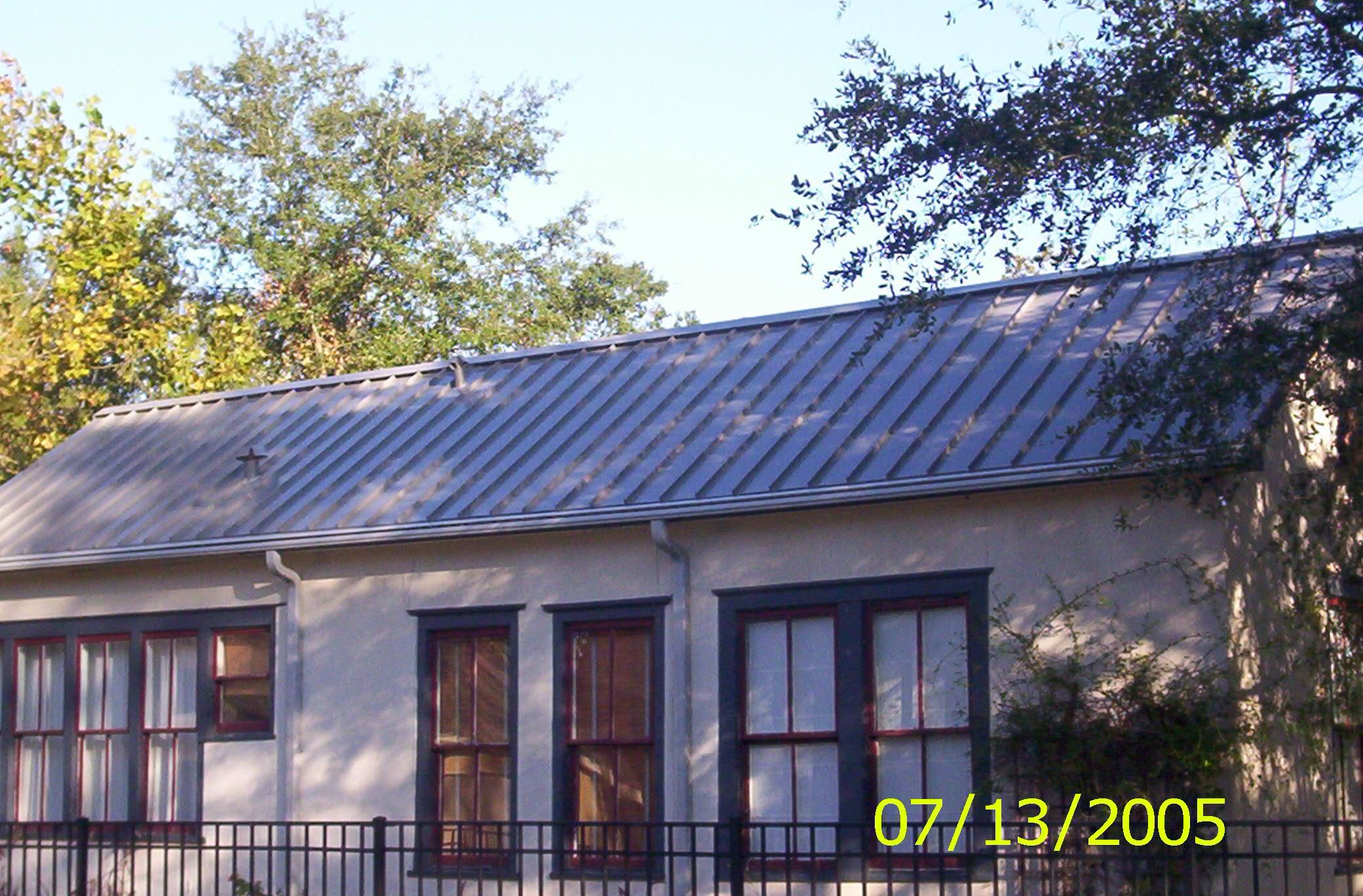 Best Slate Gray Standing Seam Metal Roof The Heights Houston Tx 400 x 300