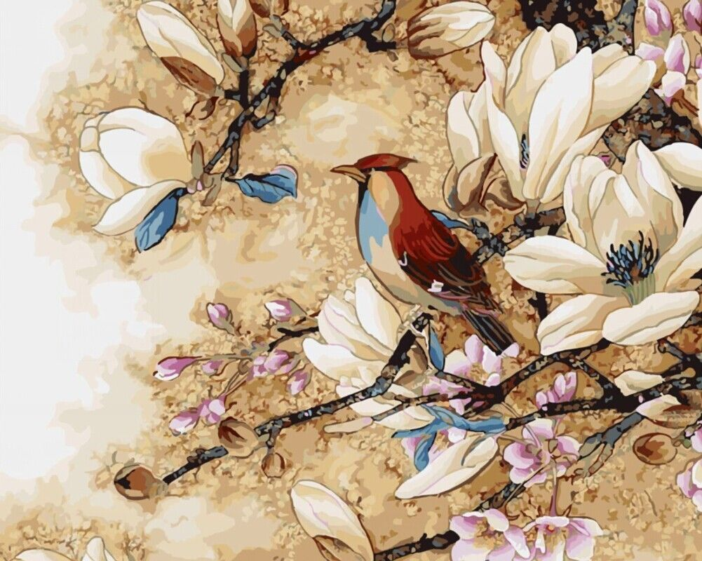 Malen Nach Zahlen 40 X 50 Cm Mit Holzrahmen Komplettset G447 Eur 19 99 Paradieseinkauf Malen Nach Z Malen Nach Zahlen Blumen Malen Leinwand Selber Gestalten