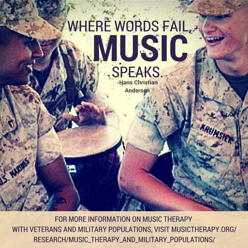 Music Therapy And Veterans Music Therapy Music Therapy Quotes