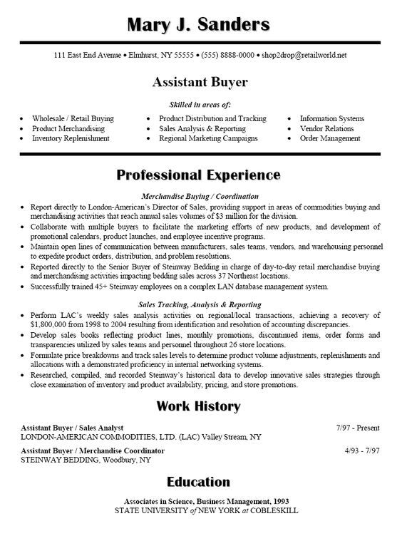 Commercial Real Estate Appraiser Resume Sales