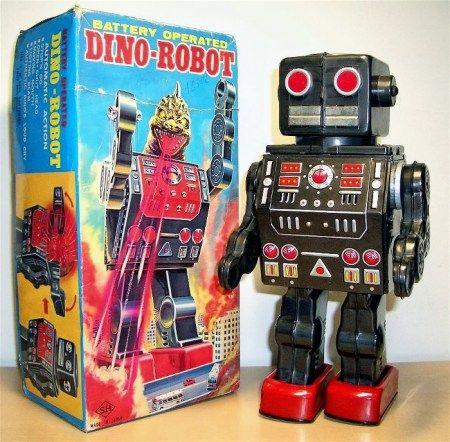 Metal House Dino Robots