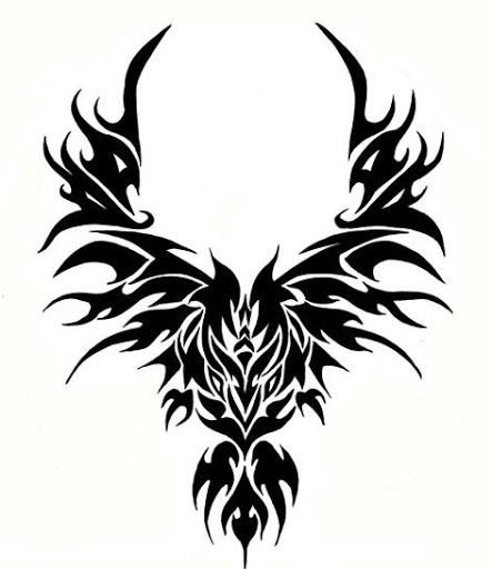 d267e6ded The tribal ada simple wings dragon sun yellow tattoo clipart best also  images in tattoos ideas