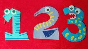 Number Craft Idea For Kids 4 Numbers Craft Idea For Kids