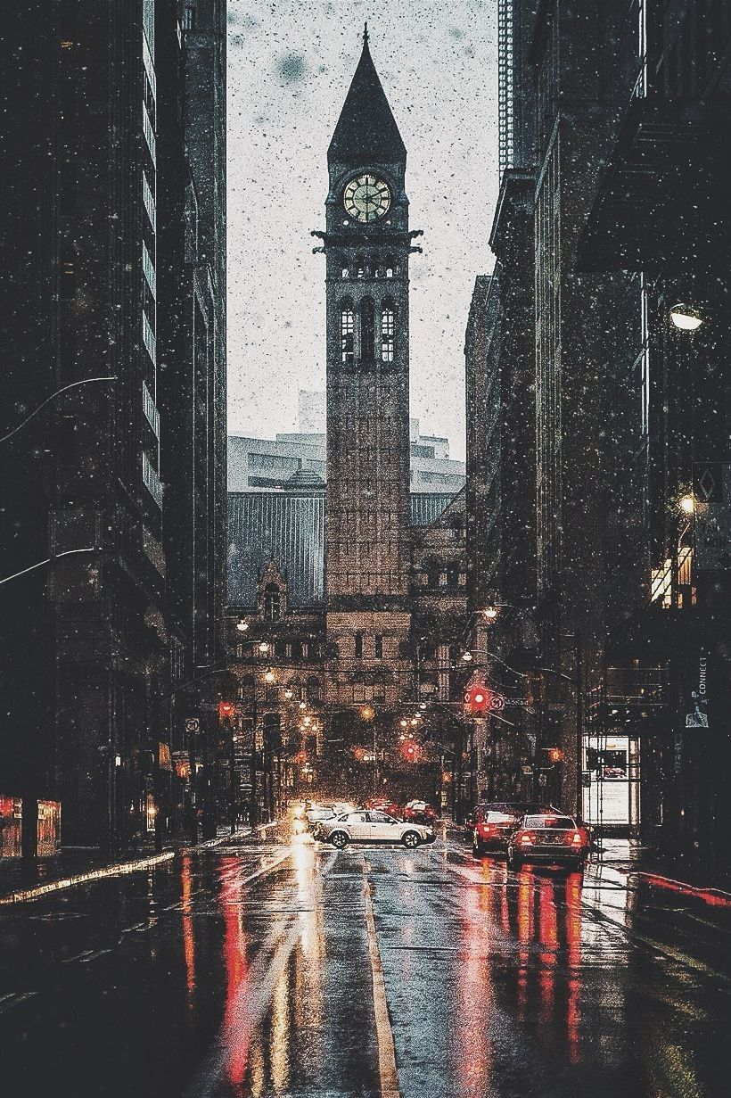 Beautiful Rainy Day iPhone Wallpaper