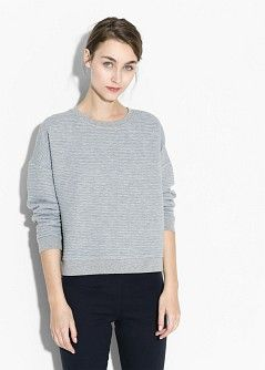 Cut-out shoulder sweater - Cardigans and sweaters for Women | MANGO