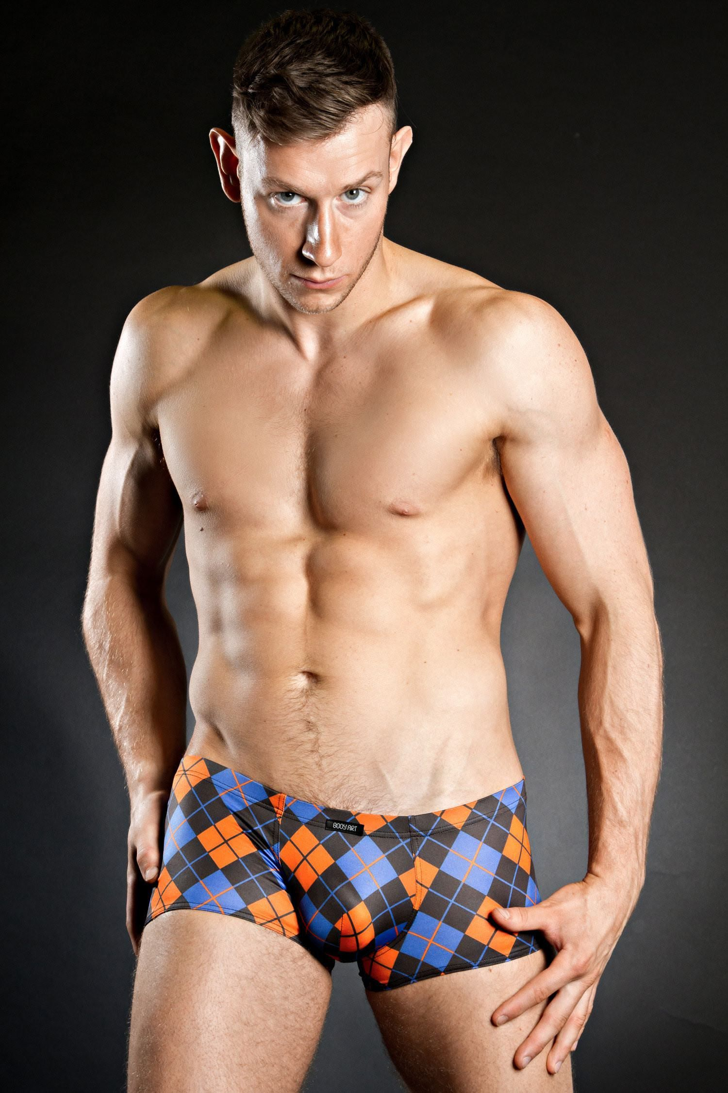 6c2459cf44 body-art-fellos-mini-pant-frontNot strictly tartan but we think argyle  counts as a check. Whether you agree or not this Body Art Fellos Mini Pant  shows off ...
