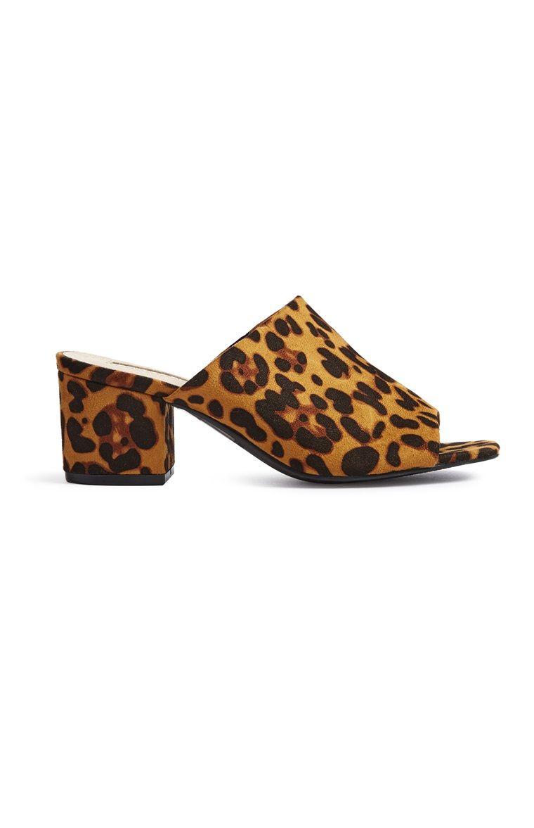 Primark - Leopard Print Mule | Leopard