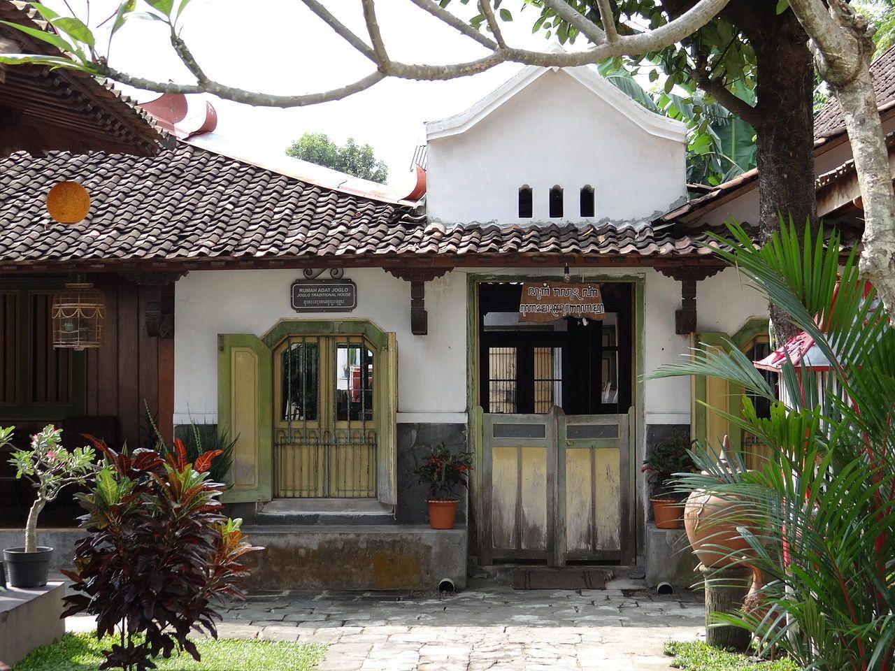 Part Of Omah Ugm In Kotagede Arsitektur Rumah Hijau Arsitektur Klasik