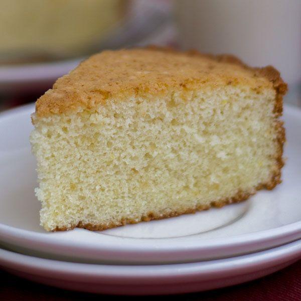 Plain Vanilla Sponge Cake - Moist And Fluffy