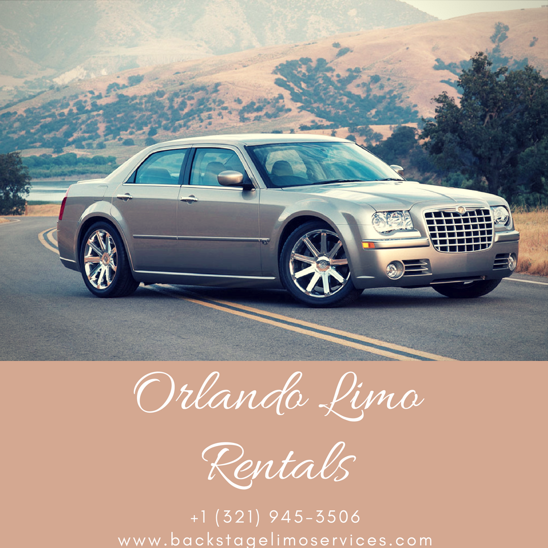 Backstage Provides Orlando Limo Rentals For Luxurious And Comfortable Journey Luxury Limo Orlando Travel Orlando Florida Car Limo Transportation Services Party Bus