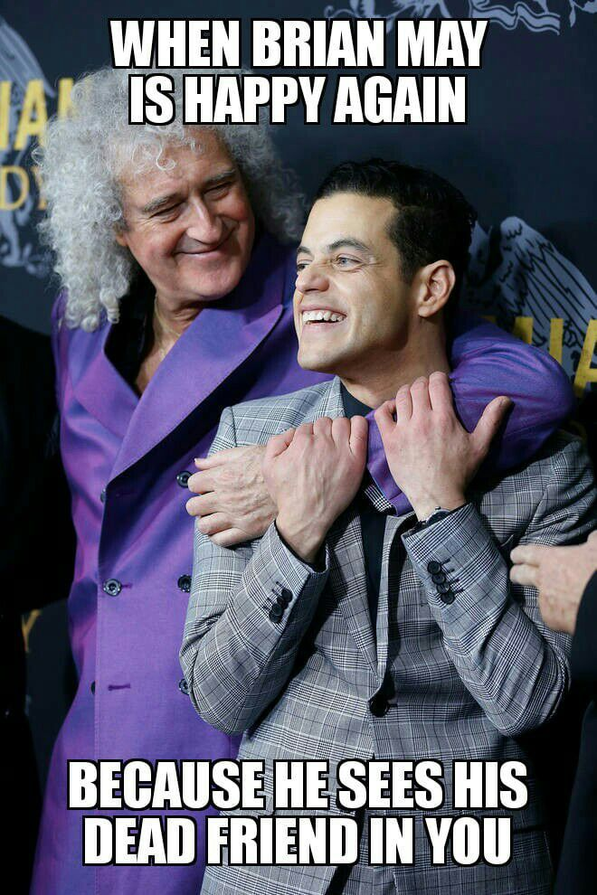 Brian May sees Freddie Mercury in Rami Malek