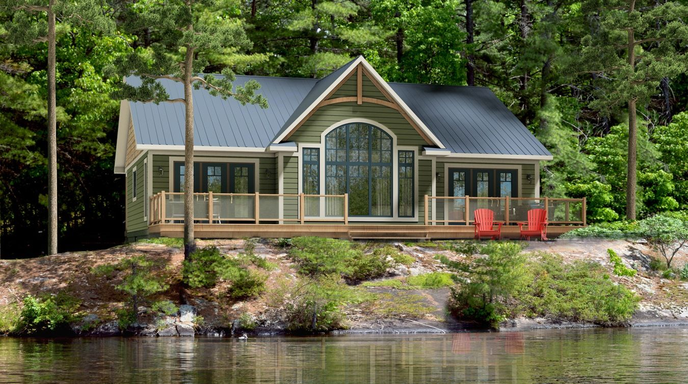 Rideau Beaver Homes And Cottages Lake House Plans Cottage Plan