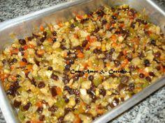 Com amor e Carinho: Salada de Beringela!! Fácil, rápido e muito saborosa!!