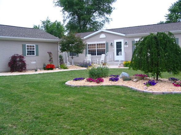 10 Beautiful Landscaping Ideas For Mobile Homes #landscapingtips